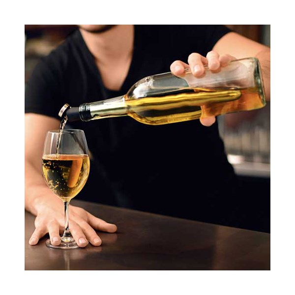 Corkcicle wine cooler and aerator