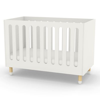 FLEXA ADJUSTABLE BABY AND TODDLER COT BED in White