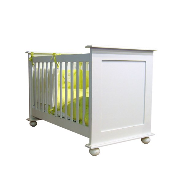 Baby Cot with Round Feet in Ines Design