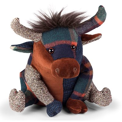 HIGHLAND COW Animal Doorstop