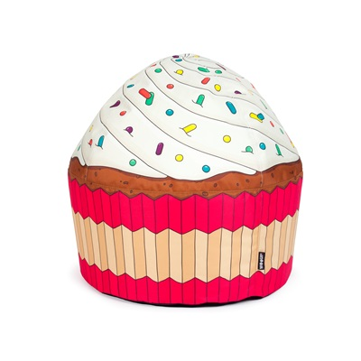 CUPCAKE CREAM BEAN BAG by Woouf