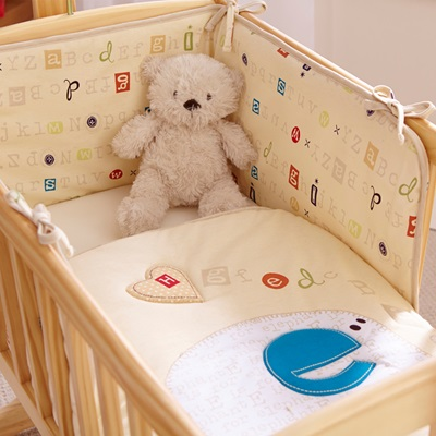 BABY CRIB BEDDING SET in ABC Design