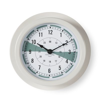 "CROMARTY 8"" CLOCK in Chalk Colour"