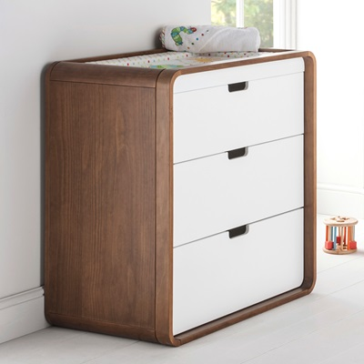 EAST COAST CUBA DRESSER AND BABY CHANGING UNIT
