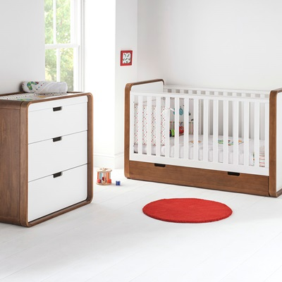 EAST COAST CUBA NURSERY & BABY'S 2PC ROOM SET