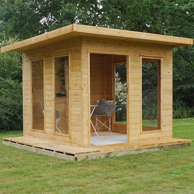 CUBE GARDEN SUMMER HOUSE by Mercia