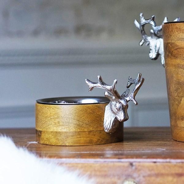 Culinary Concepts Huntsman Wooden Bottle Holder