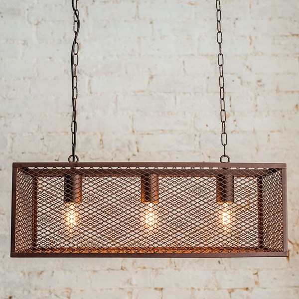 Culinary Concepts Caged Hanging Light