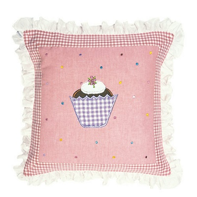 GINGERBREAD Cushion Cover by Win Green
