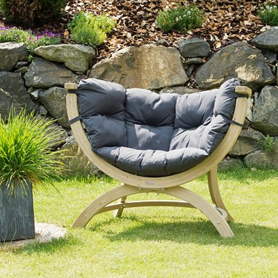 SIENA UNO GARDEN CHAIR in Weatherproof Anthracite