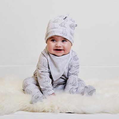 WILD COTTON ORGANIC BABY GIFT SET in Bear Design
