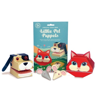 Little Pet Puppets Activity Set