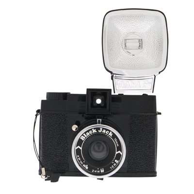LOMOGRAPHY DIANA F+ BLACK JACK CAMERA
