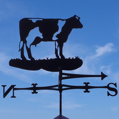 WEATHERVANE in Buttercup Cow Design
