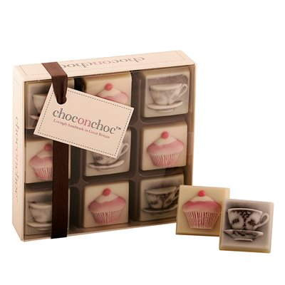 MOTHERS DAY CHOCOLATES in Tea Cup and Cake design