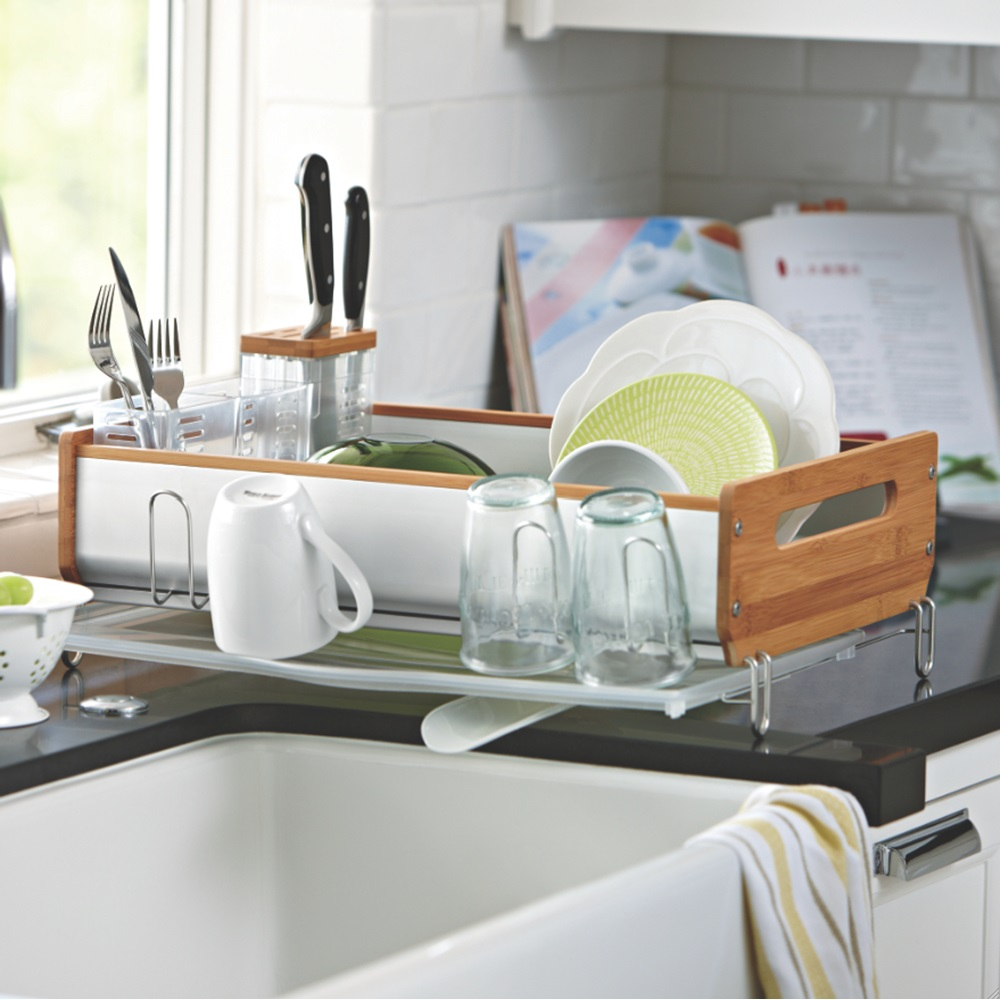 simplehuman dish rack instructions