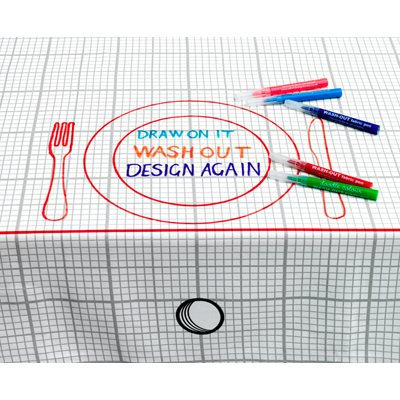 DOODLE BY STITCH Medium Tablecloth