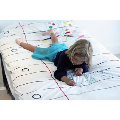 DOODLE BY STITCH Single Duvet Cover