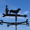 Windvane in Sausage Dog Design