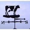 DAIRY COW WIND VANE in Black
