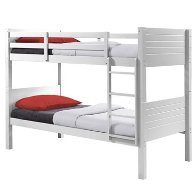 DAKOTA KIDS BUNK BED FRAME in White By Birlea
