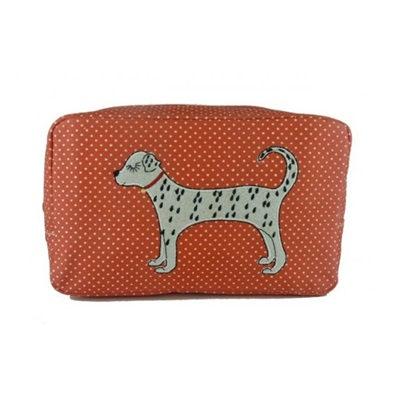 COSMETIC BAG in Dalmation Design