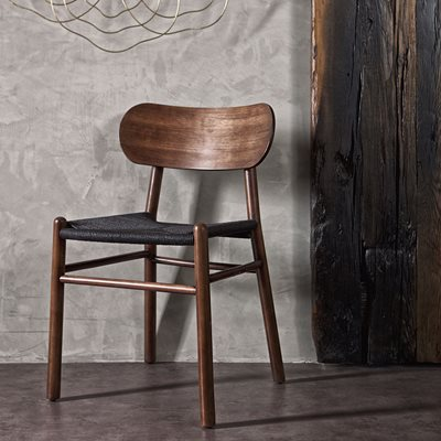 Jointly Dining Chair in Dark Brown by Be Pure Home