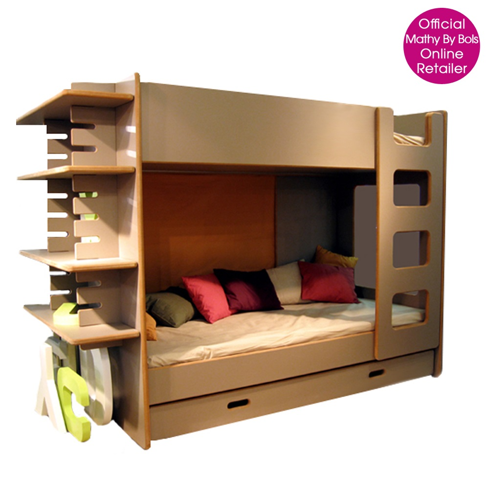 bunk bed with shelves hook on bunk bed shelf by soap. Black Bedroom Furniture Sets. Home Design Ideas