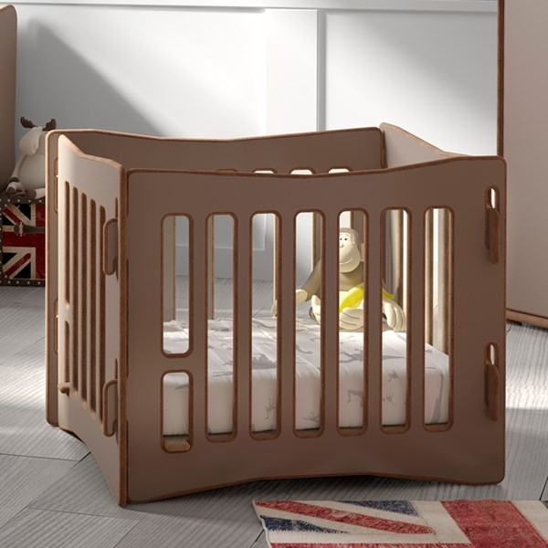 Safe and Sturdy Babies Playpen by Mathy By Bols