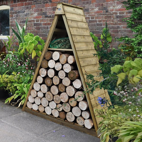 Forest Garden Pinnacle Log Store