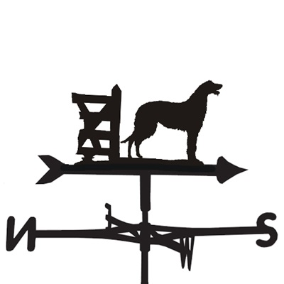 WEATHERVANE in Deerhound Dog Design