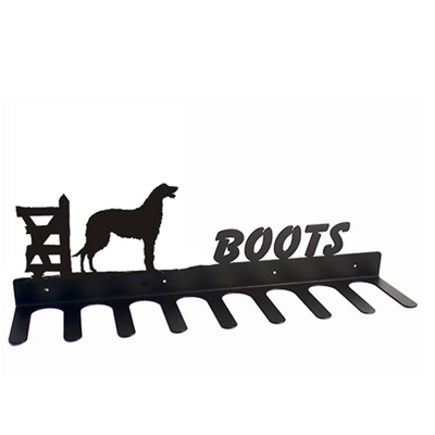 BOOT RACK in Deerhound Design