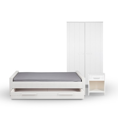 DENNIS KIDS BEDROOM FURNITURE SET Available in 3 Colours