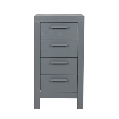 Dennis Kids Single Bed With Trundle Drawer In Steel Grey Kids Beds  # Meuble Tv Quintana
