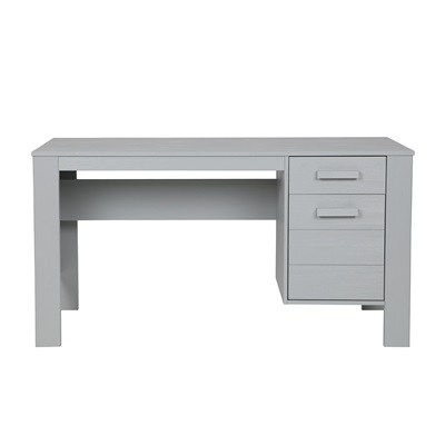 DENNIS COMPUTER & OFFICE DESK in Concrete Grey