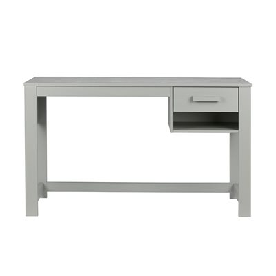 DENNIS JUNIOR COMPUTER DESK in Concrete Grey