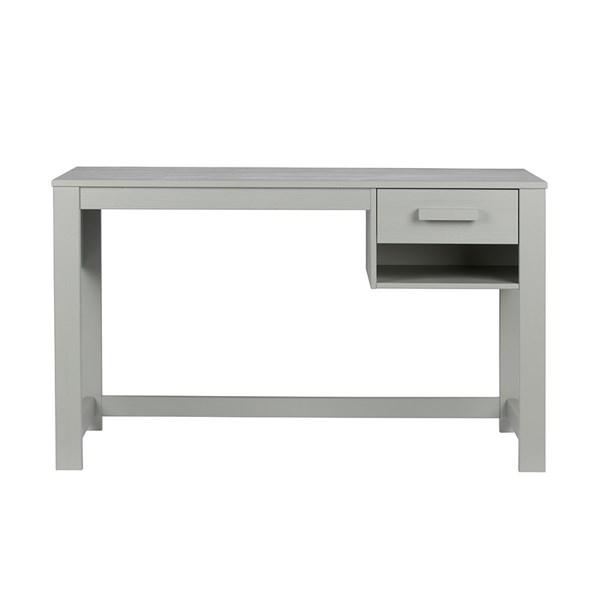 Dennis Junior Computer Desk in Concrete Grey