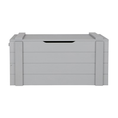 Dennis Kids Storage Box in Concrete Grey by Woood