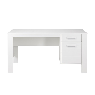 Dennis Computer & Office Desk in White by Woood
