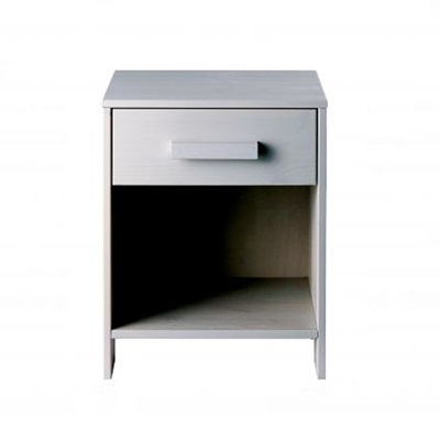 DENNIS KIDS BEDSIDE TABLE WITH DRAWER in Concrete Grey