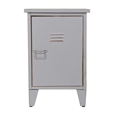 Designer Bedside Table Grey .