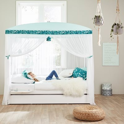 Lifetime Botanical Moonlight Four Poster Bed