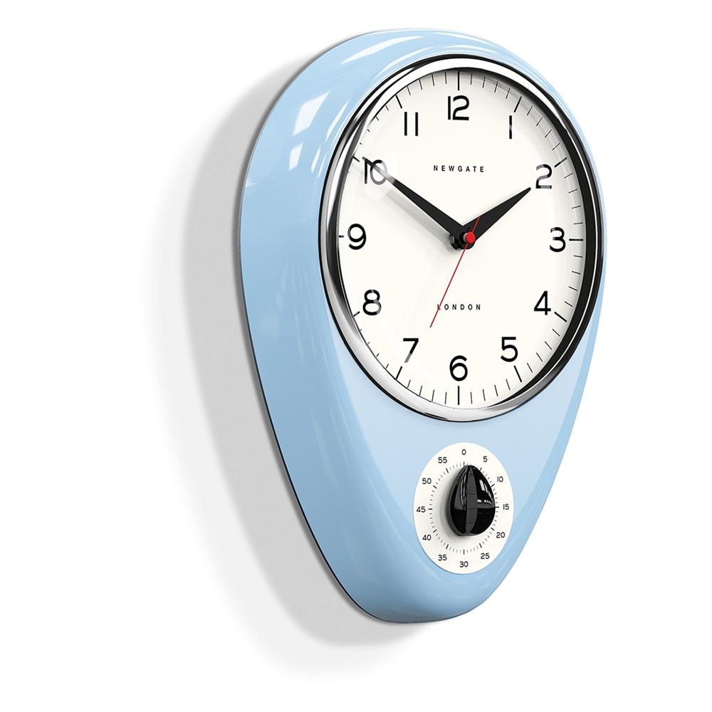 Newgate discovery kitchen timer and clock newgate clocks cuckooland for Designer kitchen wall clocks