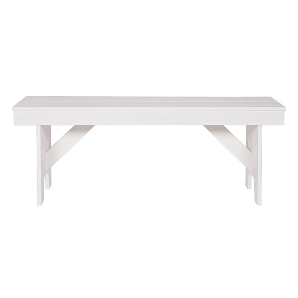 Designer European Wooden Pine Bench