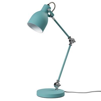 TASK TABLE LAMP in French Blue