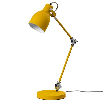 TASK TABLE LAMP in English Mustard