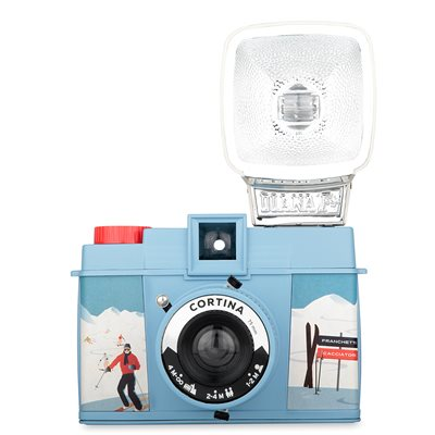 LOMOGRAPHY DIANA F+ CORTINA CAMERA