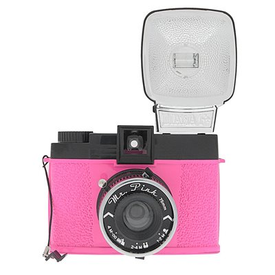 LOMOGRAPHY DIANA F+ MR PINK CAMERA