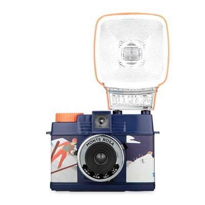 LOMOGRAPHY DIANA MINI CAMERA & FLASH PACKAGE - Monte Rosa