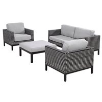 DIAS RATTAN PATIO SET by 4 Seasons Outdoor